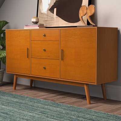 Shaun 60 TV Stand Color: Acorn