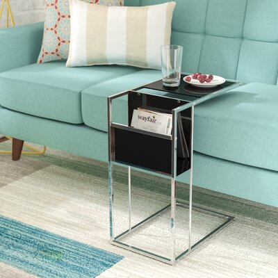 Christi End Table Color: Black