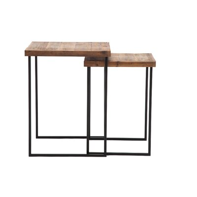 Myrtle Avenue Reclaimed Wood End Table