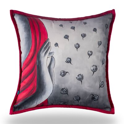 Lappin Meditation Cotton Pillow Cover