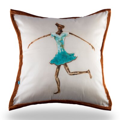 Lapham The Dancing Girl Pillow Cover