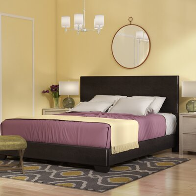 Sibilla Upholstered Panel Bed Size: California King