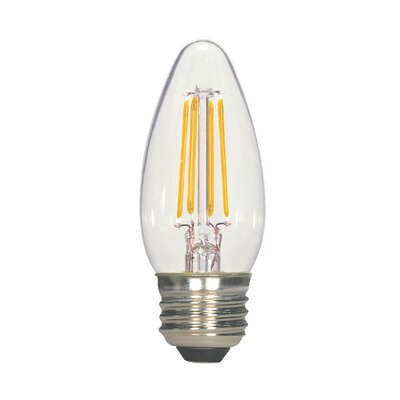 E26 Medium LED Vintage Filament Light Bulb Wattage: 4.5, Lumens: 470