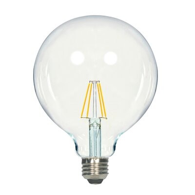 E26 Medium LED Vintage Filament Light Bulb Wattage: 4.5, Lumens: 450
