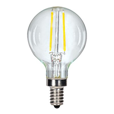 3W E12 Candelabra LED Vintage Filament Light Bulb
