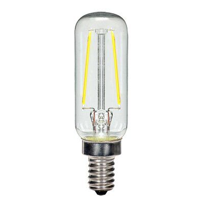2.5W E12 Candelabra LED Vintage Filament Light Bulb