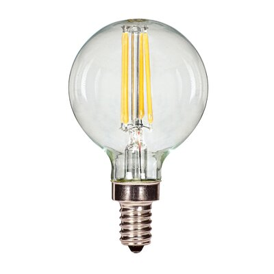 3.5W E12 Candelabra LED Vintage Filament Light Bulb