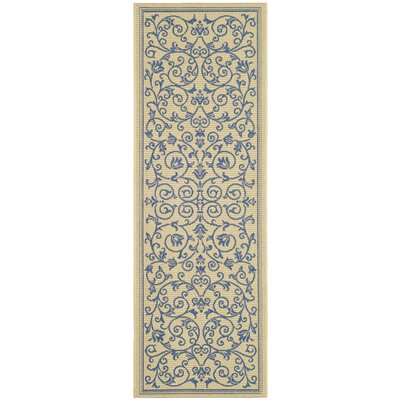 Bacall All Over Vine Indoor/Outdoor Area Rug Rug Size: Runner 24 x 67