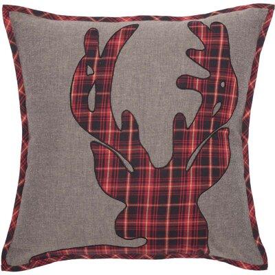 Nettleton Deer 100% Cotton Throw Pillow