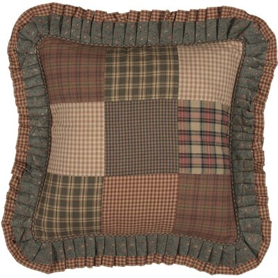 Caudillo Patchwork 100% Cotton Throw Pillow