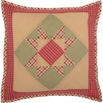 Cauley Star Patchwork 100% Cotton Throw Pillow