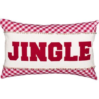 Foskey Jingle 100% Cotton Lumbar Pillow