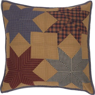 Caulfield Patchwork 100% Cotton Throw Pillow