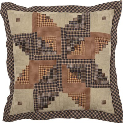 Netherton Patchwork 100% Cotton Throw Pillow