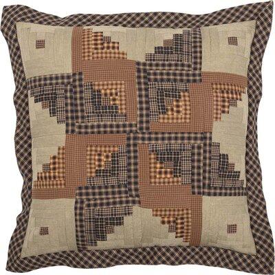 Netherton Patchwork 100% Cotton Throw Pillow
