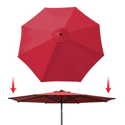 Umbrella Canopy Rib Patio Top Outdoor Replacement Cover UC-13-BGD