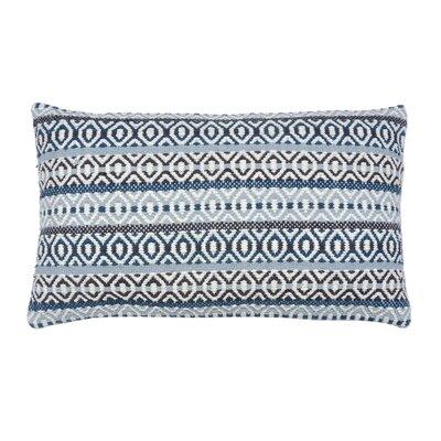 Serape Stripe 100% Cotton Lumbar Pillow