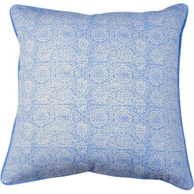 Boho Diamond Throw Pillow Color: Periwinkle