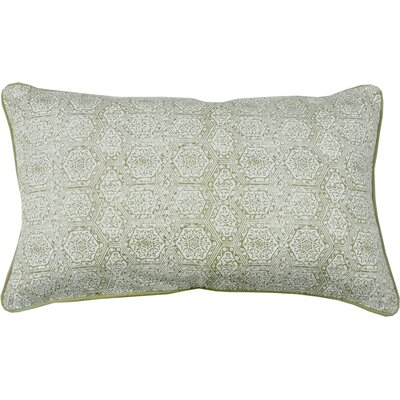 Boho Diamond Lumbar Pillow Color: Avocado