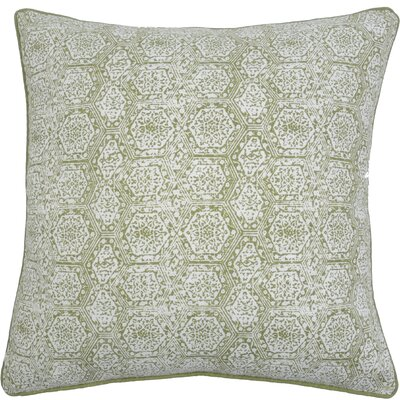 Boho Diamond Throw Pillow Color: Avocado