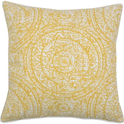 Sundial Throw Pillow Color: Bamboo