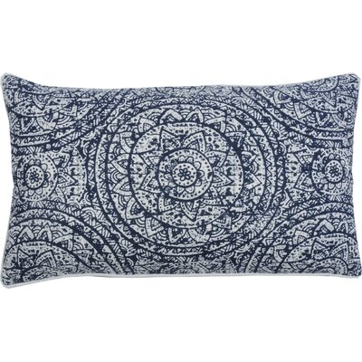 Sundial Lumbar Pillow Color: Cobalt