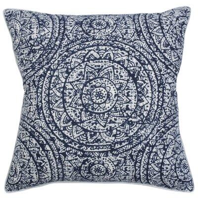 Sundial Throw Pillow Color: Cobalt