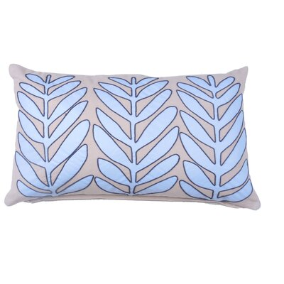 Laurel Leaf 100% Cotton Lumbar Pillow