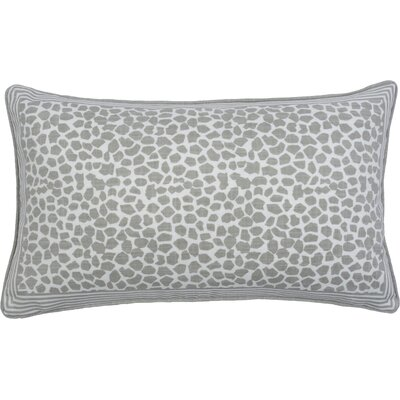 Giraffe Lumbar Pillow Color: Pebble