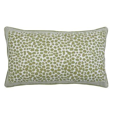 Giraffe Lumbar Pillow Color: Avocado