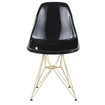 Aditya Dining Chair Finish: Black