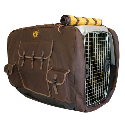Leon Insulated Crate Cover Med Size: Medium (25H x 23W x 32L)