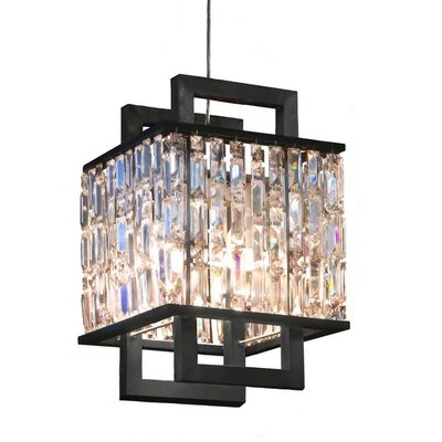 Demarest 2-Light Crystal Pendant