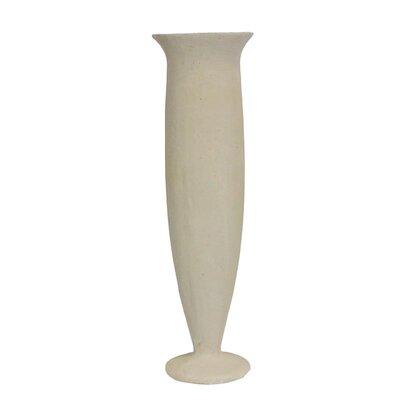 "Crossville Terracotta Floor Vase Size: 25.79"" H x 7.48"" W x 7.48"" D"