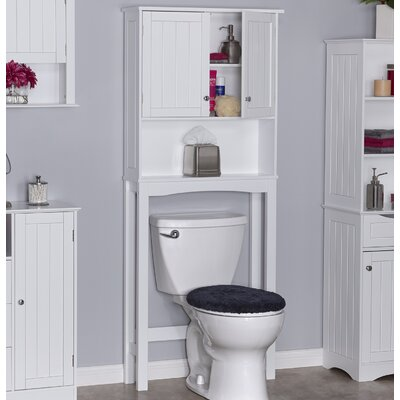 """Godbey 27.5"""" W x 65"""" H Over the Toilet ANDV3269 45486001"""