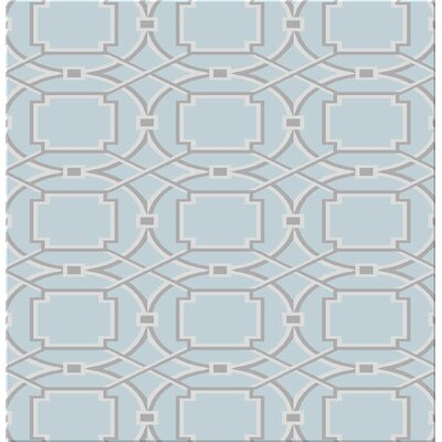 Figgs Duck Egg Blue Area Rug Rug Size: Rectangle 53 x 72