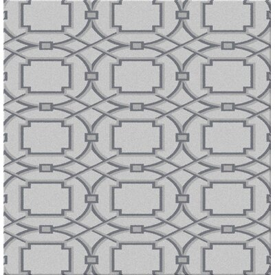 Fierros Gray Area Rug Rug Size: Rectangle 711 x 910