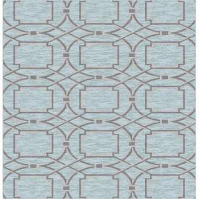 Figueiredo Gray Area Rug Rug Size: Rectangle 53 x 72