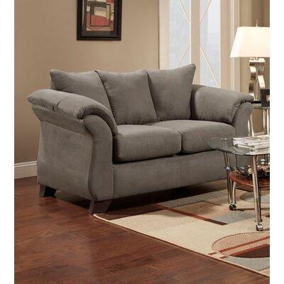 Denys Loveseat Upholstery: Gray
