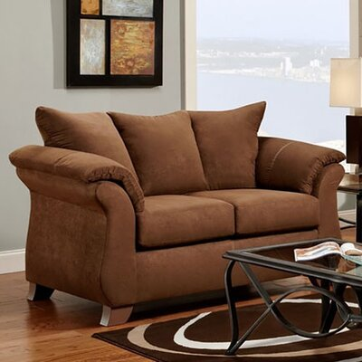 Denys Loveseat Upholstery: Chocolate