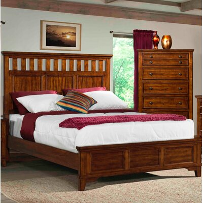 Angleterre Platform Bed Size: King