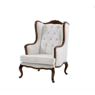 Pinkney Armchair Upholstery: Brown Bright