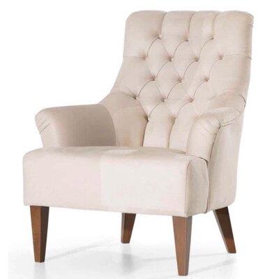 Pinkston Armchair Upholstery: Beige