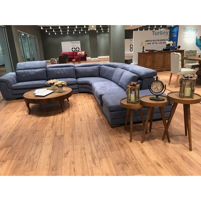 Crittenden Leather Corner Sectional