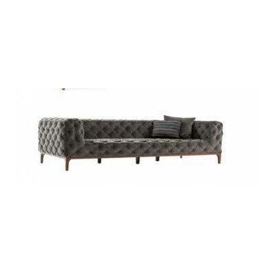 Crites Sofa Upholstery: Gray