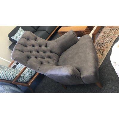 Pinkston Armchair Upholstery: Gray