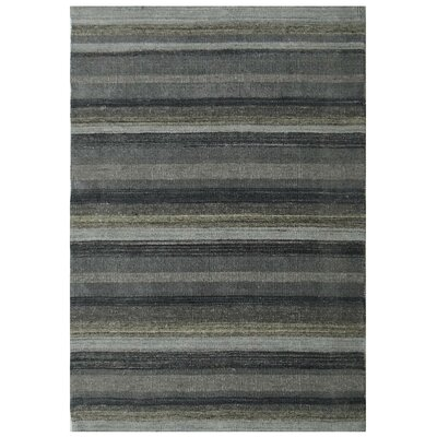 Taliaferro Hand-Tufted Wool Gray Area Rug Rug Size: Rectangle 711 x 910