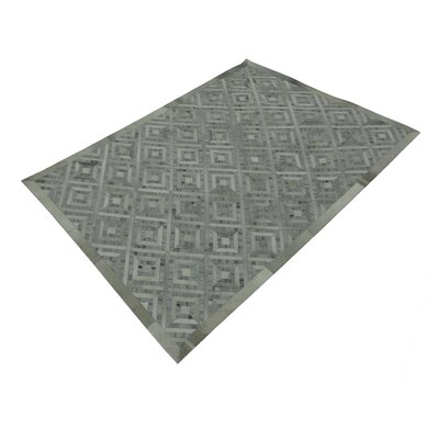 Woolley Hand-Tufted Silver/Gray Area Rug Rug Size: Rectangle 53 x 72