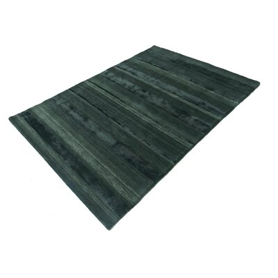 Talley Hand-Tufted Wool Dark Green Area Rug Rug Size: Rectangle 711 x 910