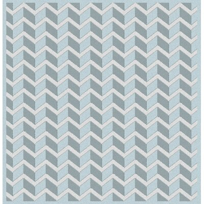 Wilborn Blue Area Rug